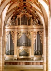 Silbermann organ